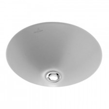 Villeroy & Boch Loop & Friends umywalka podblatowa, 280 mm srednicy, Weiss Alpin - 9256_O1
