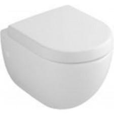 Villeroy & Boch Subway miska WC wisząca krótka, 355x480 mm, Star White Ceramicplus - 12550_O1