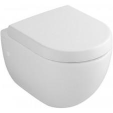 Villeroy & Boch Subway miska WC wisząca krótka, 355x480 mm, Pergamon Ceramicplus - 12551_O1