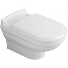 Villeroy & Boch Hommage miska WC wisząca, 370 x 600 mm, Star White Ceramicplus - 8757_O1