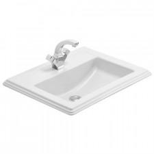 Villeroy & Boch Hommage umywalka nablatowa, 630 x 525 mm, Star White Ceramicplus - 8721_O1