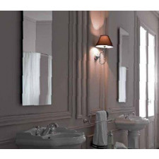 Kerasan Retro lampa ścienna, czarny klosz - 462599_O1