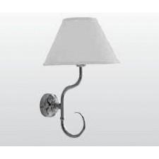 Kerasan Retro lampa ścienna, biały klosz - 462632_O1