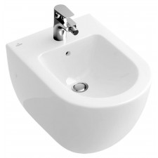 Villeroy & Boch Subway bidet, 370 x 560 mm, model wiszacy, Weiss Alpin - 12512_O1