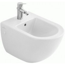 Villeroy & Boch Subway bidet, 370 x 560 mm, model wiszacy, Star White Ceramicplus - 12515_O1