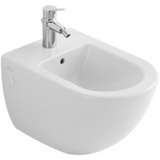 Villeroy & Boch Subway bidet, 370 x 560 mm, model wiszacy, Pergamon Ceramicplus - 12516_O1
