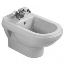 Villeroy & Boch Hommage bidet, 370 x 600 mm, model wiszacy, Star White Ceramicplus - 8741_O1