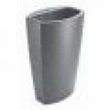 GSI Losanga Umywalka nablatowa 56 × 40 cm, czarny - 405688_O1