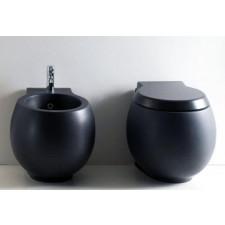 Scarabeo Planet muszla WC stojąca antracyt - 469008_O1