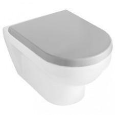 Villeroy & Boch Hommage deska sedesowa, Stali szlachetnej, Star White Ceramicplus - 16026_O1