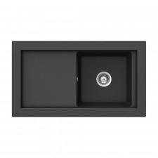Teka zlewozmywak granit Aura 45 B-TG Metalic onyks - 686411_O1