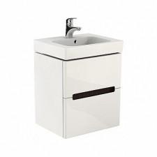 Koło Modo szafka wisząca podumywalkowa 50cm biały połysk - 487863_O1