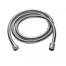 Tres wąż prysznicowy w podwójnym oplocie 1,70m z uszczelką zabezpieczoną przed wypadaniem chrom - 4848_O1