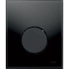 Tece Loop przycisk spłukujący ze szkła do pisuaru, szkło czarne, przycisk czarny - 164274_O1