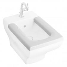 Villeroy & Boch La Belle Deska do bidetu z tworzywa Duroplat Biała Ceramicplus - 357383_O1