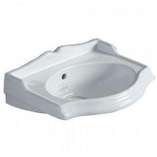 Simas Arcade, umywalka podwieszana, 37x28, biała - 687340_O1