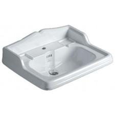 Simas Arcade, umywalka ścienna, biała 73x54 - 687337_O1