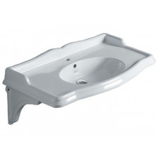 Simas Arcade, umywalka podwieszana, biała 90x56 - 687327_O1