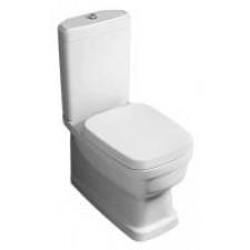 Simas Evolution Muszla klozetowa miska WC kompaktowa stojąca 37x64 cm, biała - 687341_O1