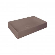 HushLab SUPER SLIM 60 umywalka 60X37 kolor kawowy matowy - 781517_O1