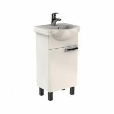Koło Freja zestaw łazienkowy 45cm (szafka + umywalka) biały połysk - 573105_O1