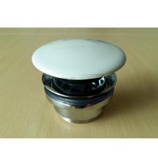 Flamina Korek do umywalki biały klic-klack - 736791_O1