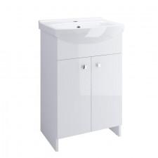 Cersanit Sati set cersania 60 biała dsm (szafka + umywalka) - 762827_O1