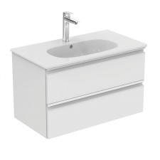 Ideal Standard Tesi szafka podumywalkowa 80cm biały lakier (uchwyt: biały mat) - 737887_O1