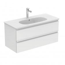 Ideal Standard Tesi szafka podumywalkowa 10cm biały lakier (uchwyt: biały mat) - 737829_O1