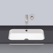 Alape umywalka podblatowa, prostokątna, 609 x 359 mm - 687409_O1