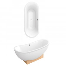 Villeroy & Boch My Nature Duo wanna 1900 x 800 Weiss Alpin - 510763_O1