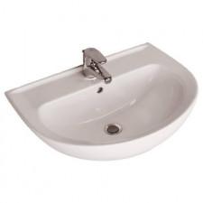 Ideal Standard Ecco/Eurovit umywalka 60x46cm z otworem biała - 367504_O1