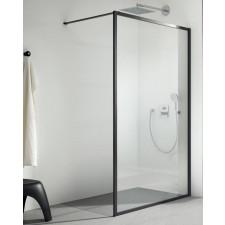 Kermi Walk-In XD Dark Edition 100 cm czarny szkło przezroczyste - 794047_O1