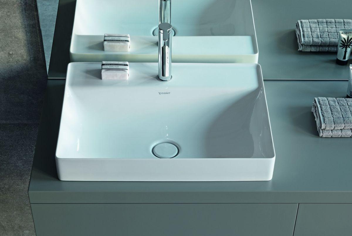 Minimalistyczne geometryczne umywalki i wanny