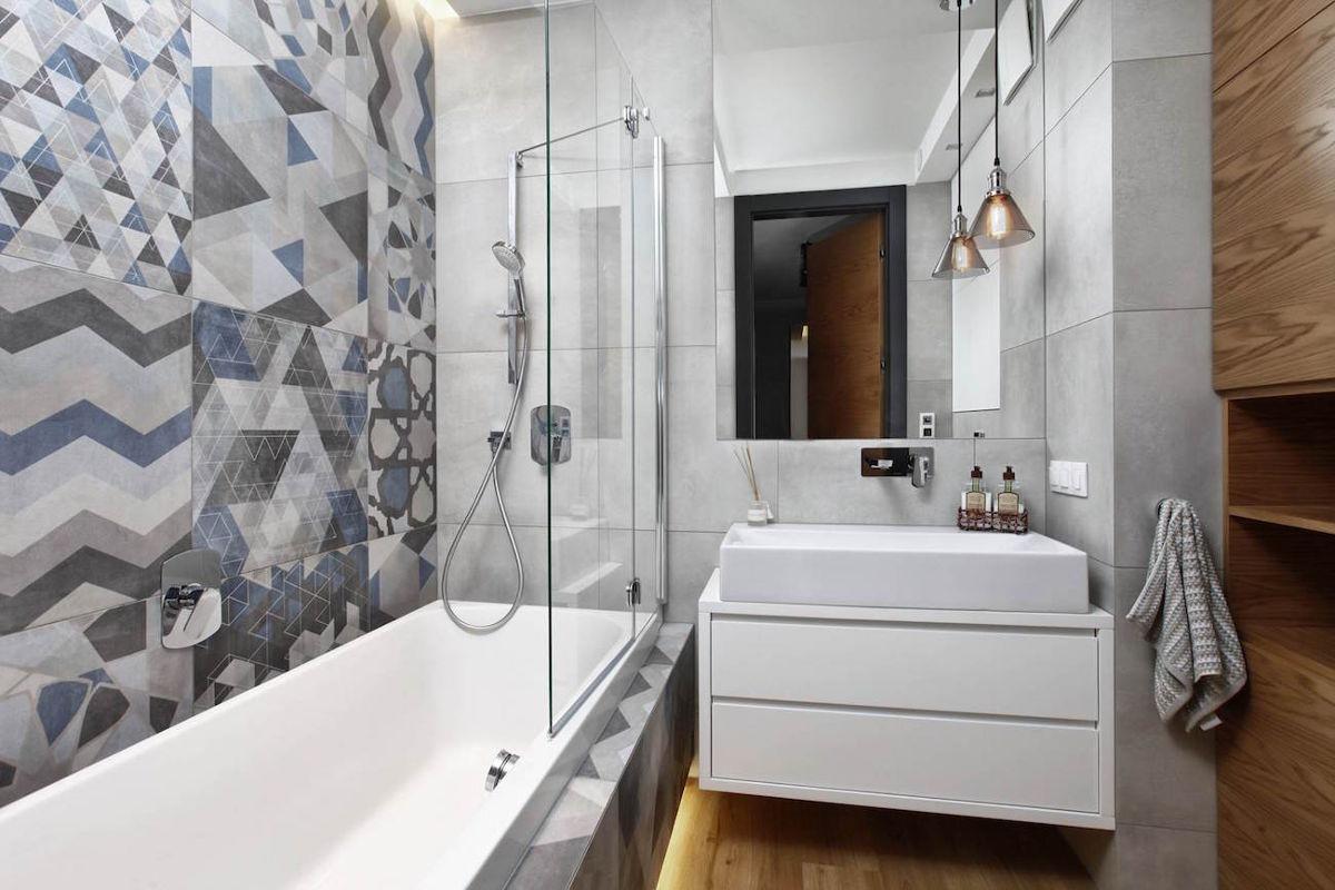Szara łazienka, stylowa i na lata - zobacz aranżacje