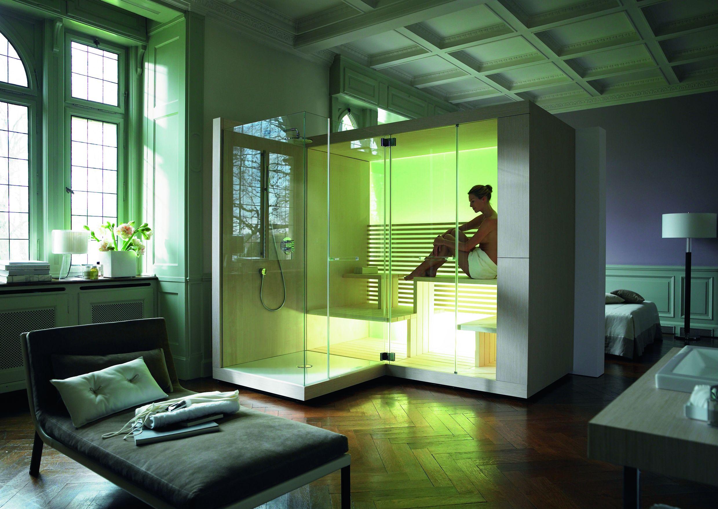 Relaks w domowej saunie