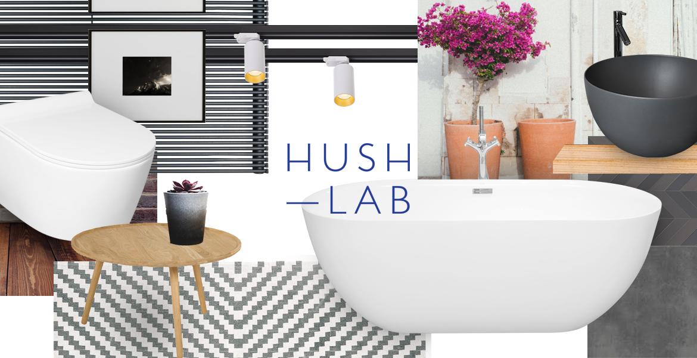 Poznaj nową markę łazienkową HushLab dla wymagających
