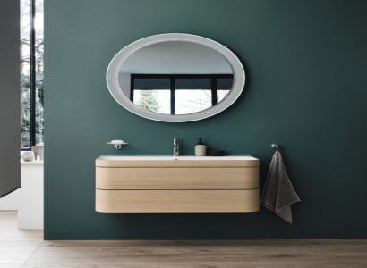 Nowy design Mebli Xbase oraz okrągłe lustra od marki Duravit