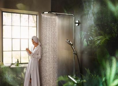 Hansgrohe PowderRain - nowa jakość kąpieli pod prysznicem