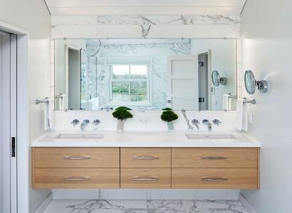 Mała łazienka, jak optycznie powiększyć wnętrze? 6 prostych rad.