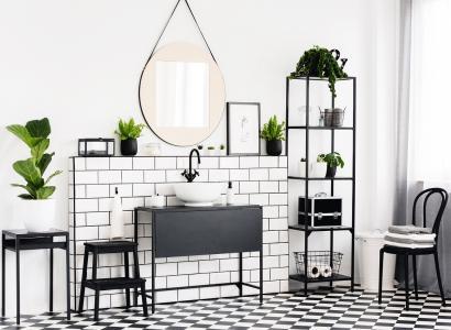 Czarny mat w łazience - tak czy nie?