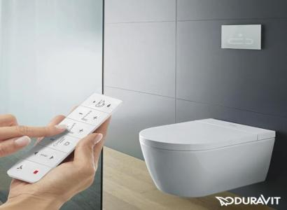 Duravit SensoWash -  prosta obsługa, komfort użytkowania