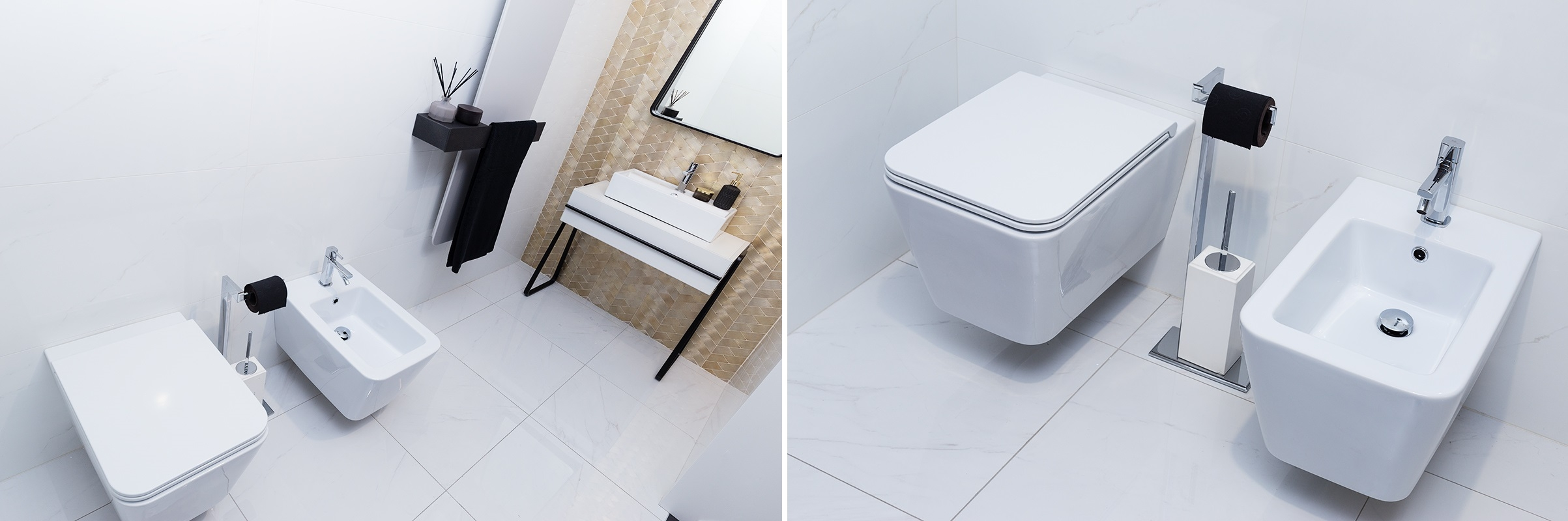 Bidet i miska WC Hushlab