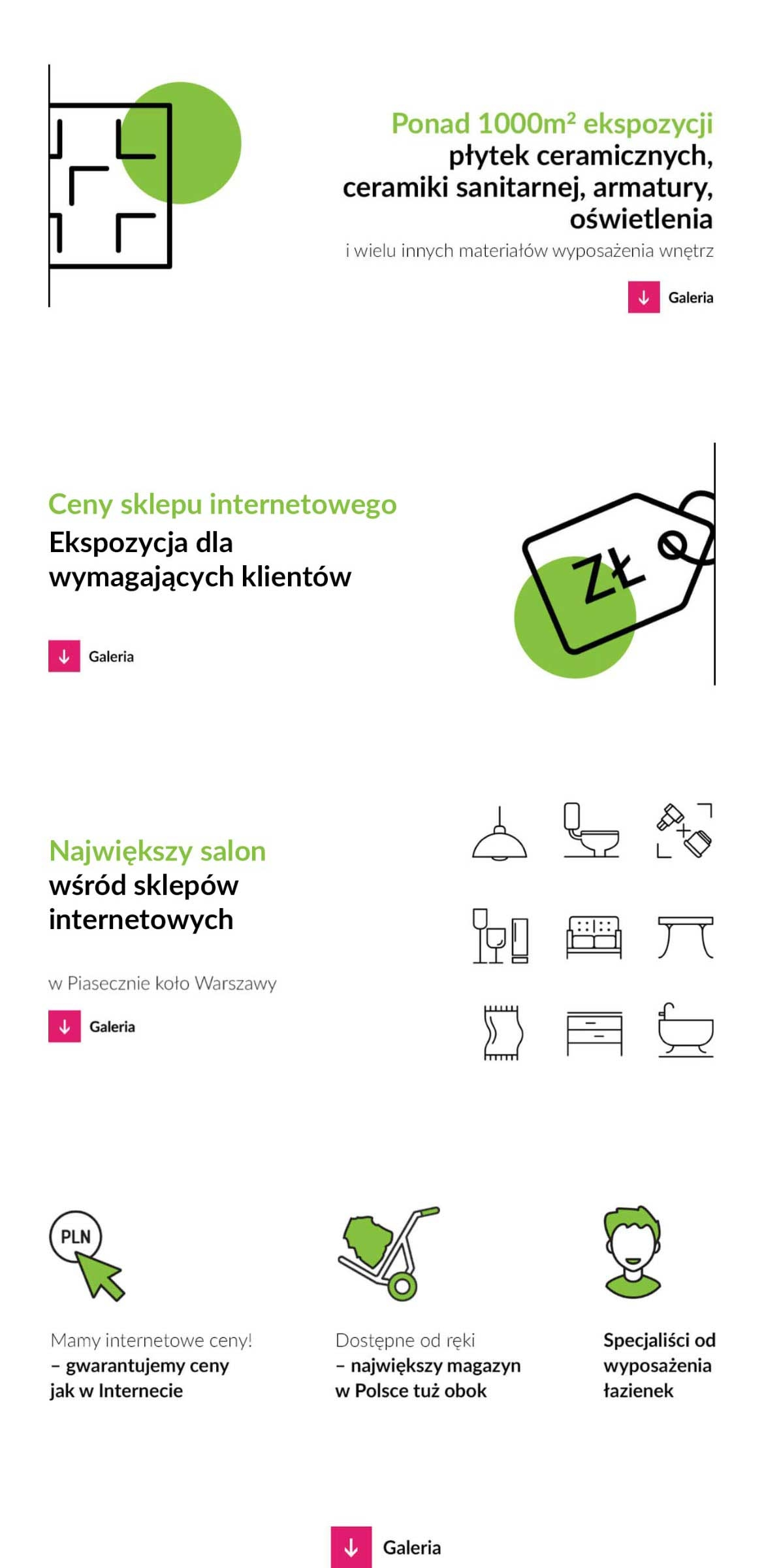 Nasz Salon łazienkowy W Piasecznie Koło Warszawy In360pl